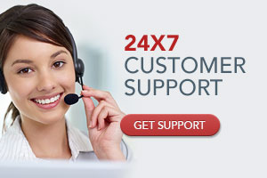 24x7 Customer Support. Get Support.